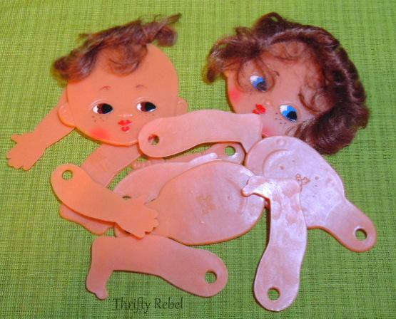 Vintage Plastic Dolls
