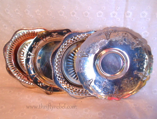 Silver Plate Dishes