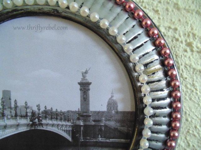 Repurposed Stove Pipe Covers Frames