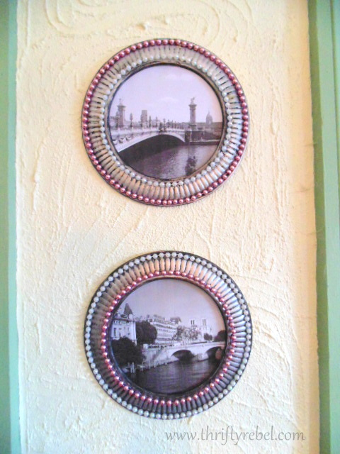 Painted Stove Pipe Cover Picture Frames