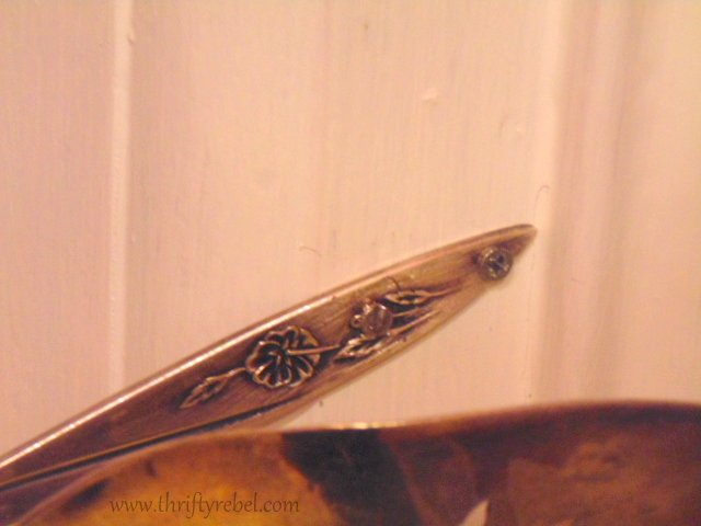 silver pie server curtain tie back