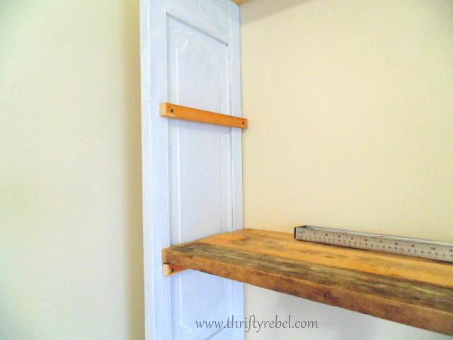 Adding shelves to bifold door bookcases