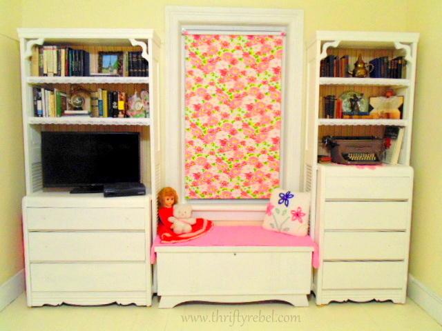 DIY Bifold door and dresser bookcases