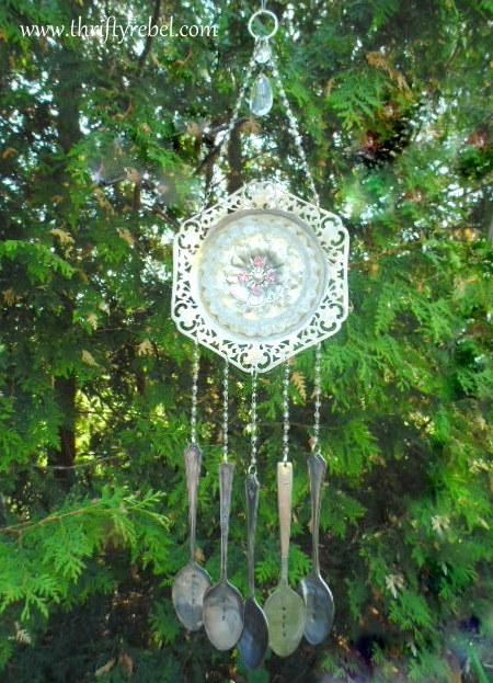 Vintage Silverware Wind Chime