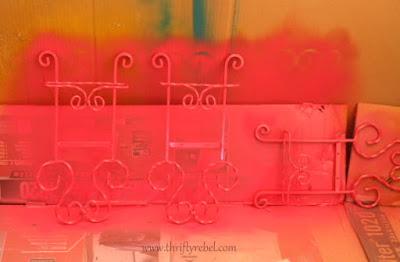 Painting Metal Plate Racks