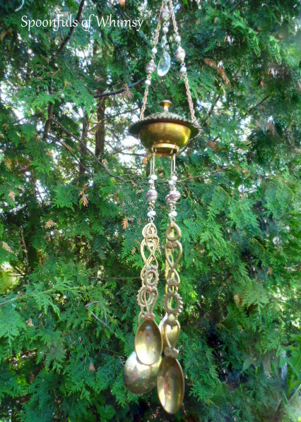 Brass Spoons Wind Chime
