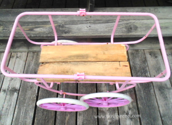 Doll Carriage Planter