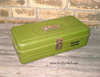 Vintage Union Metal Box