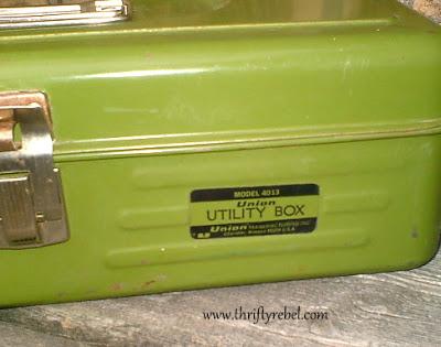 Vintage Green Utility Box