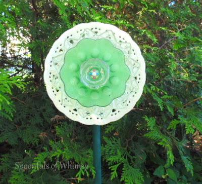 China Dish Green Plate Flower