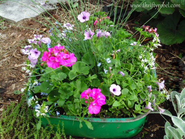 How to create a vintage sink planter