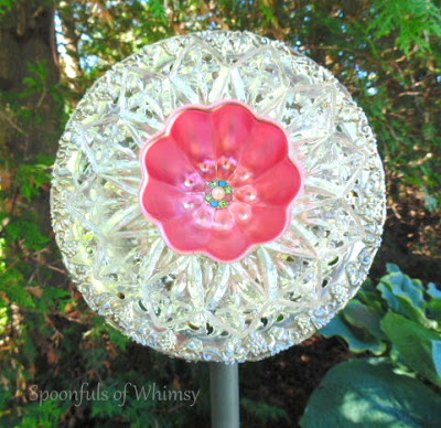 Silver and Copper Mold Plate Flower
