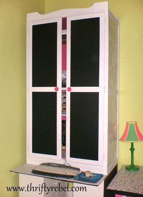 wardrobe-makeover-into-computer-armoire