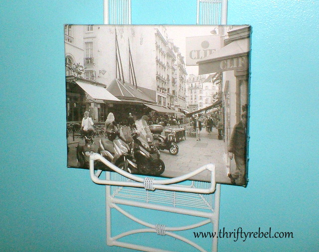decoupaged-photos-on-canvas-frames