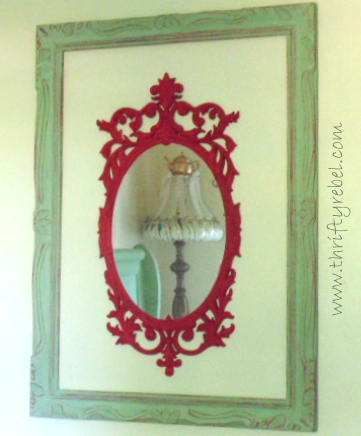 mirror-and-frame-makeover
