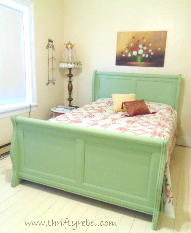 sleigh-bed-makeover