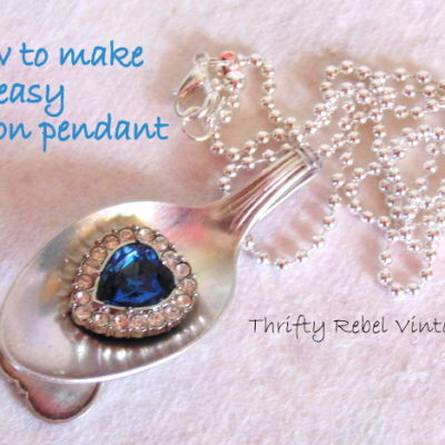 How to Make an Easy Spoon Pendant
