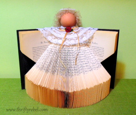 how-to-make-a-book-angel