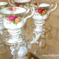 How to Make a Teacup Candelabra