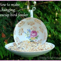hanging teacup birdfeeder 1