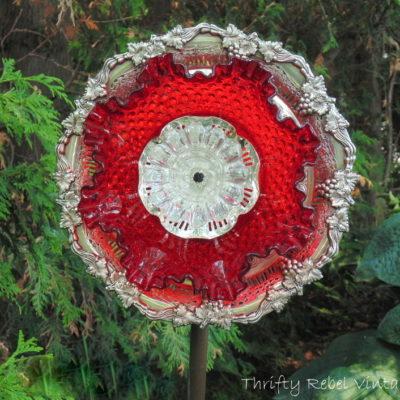 Garden Plate Flower Giveaway