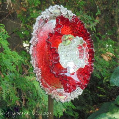 Plate Flower Giveaway Winner