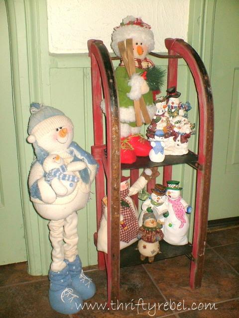 repurposed-vintage-sled-shelf