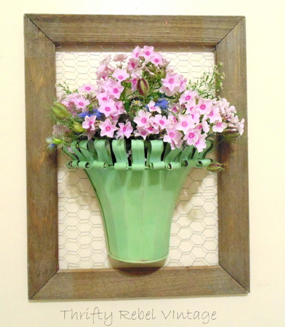 vintage-metal-wall-planter-vase=