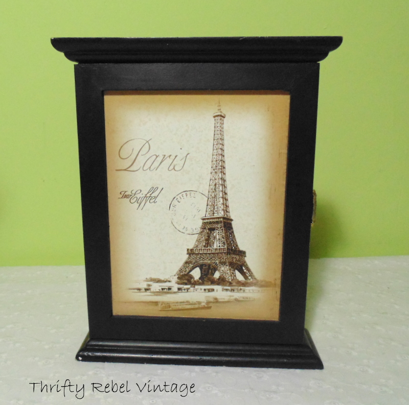 Paris Eiffel Tower Key Holder