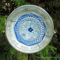 How to Make A Garden Art Dish Flower