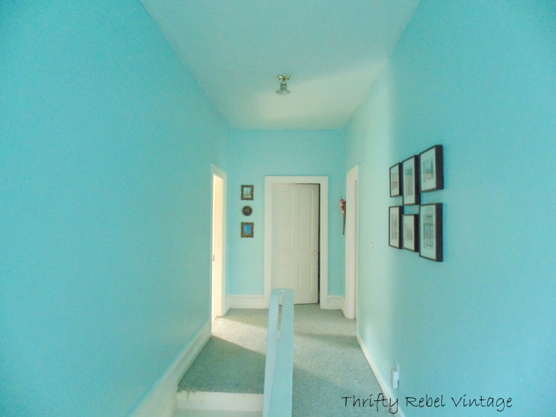 hallway painted 1a
