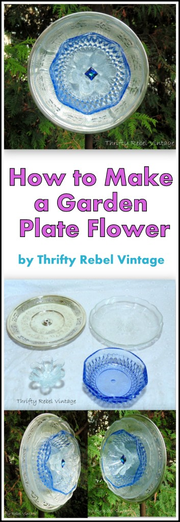 How to make a garden dish flower