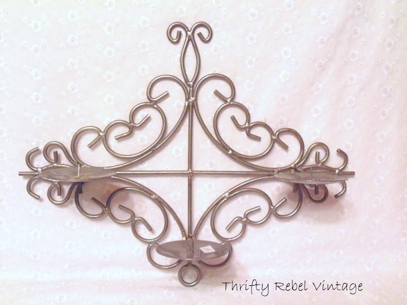 ornate wall candle holder