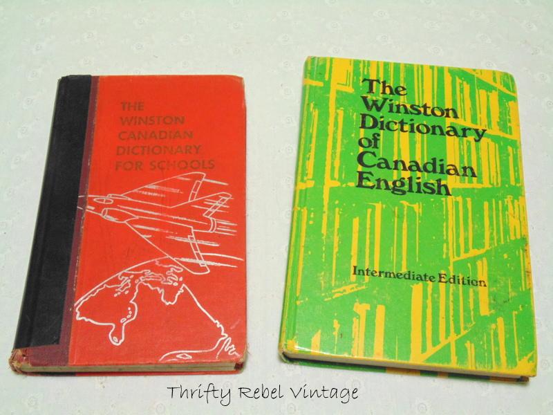 Vintage Canadian Dictionaries
