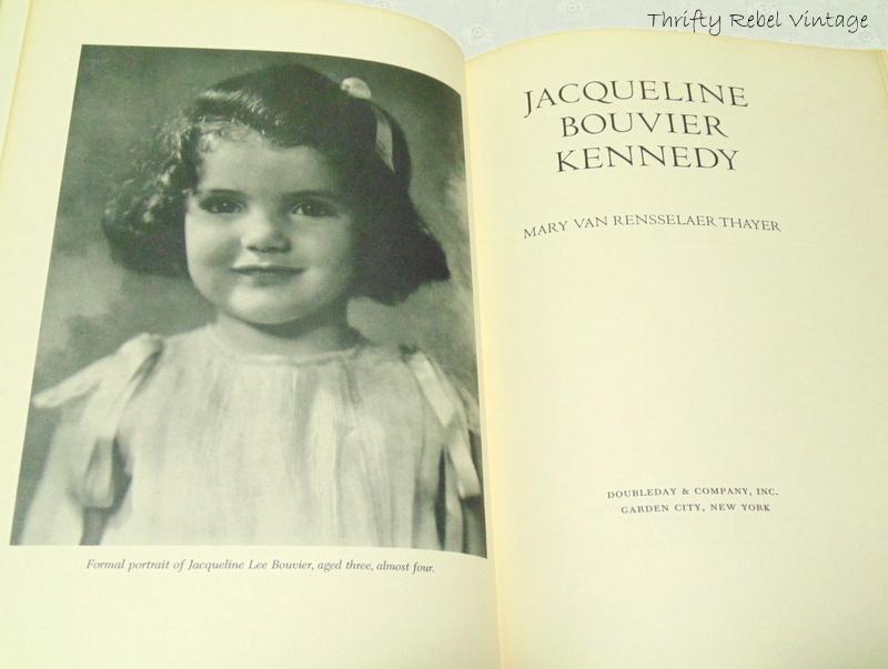 Vintage Jackie Kennedy Book