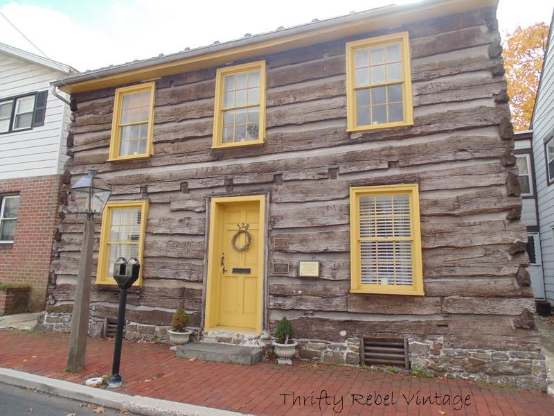 Log Home in Gettysburg