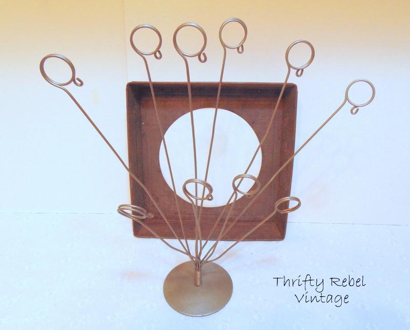 card holder & baking pan