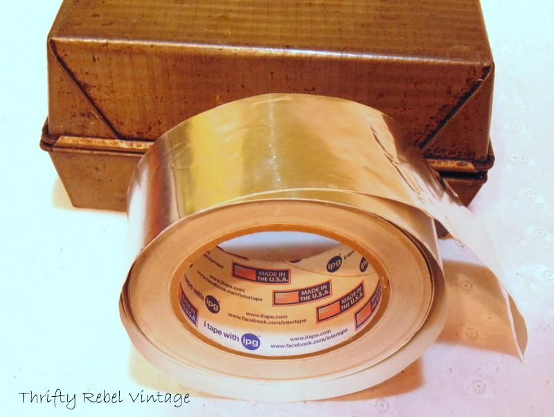how to make a repurposed baking pan gift box