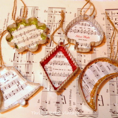 Vintage Cookie Cutter Ornaments