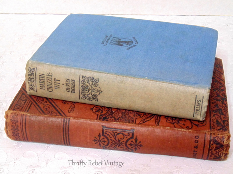 antique Dickens books