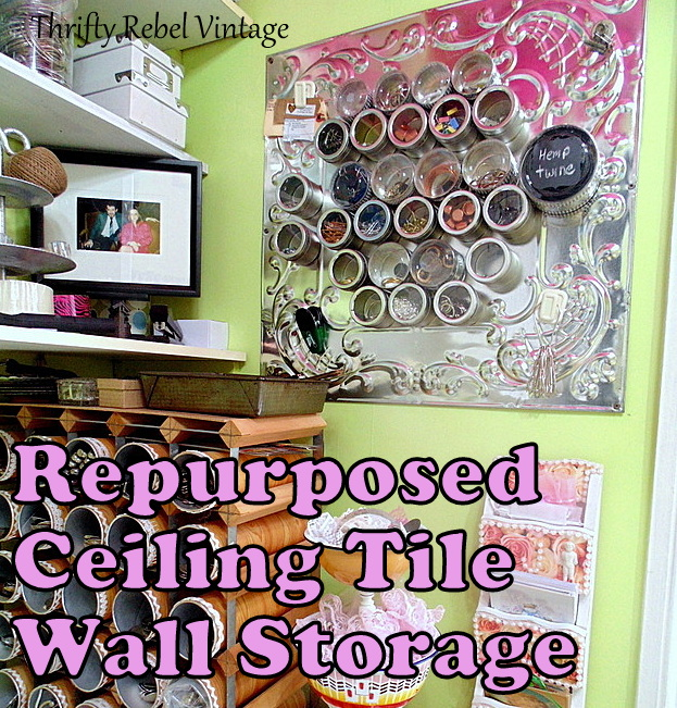 repurposed-tin-tile-wall-organizer=