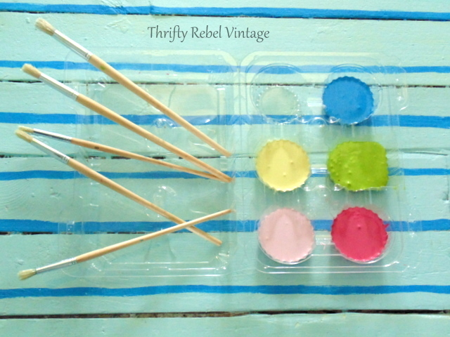 paint colours for painting faux rag rug