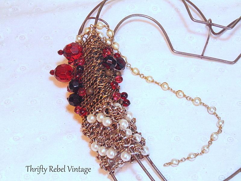 necklace heart wreath 4