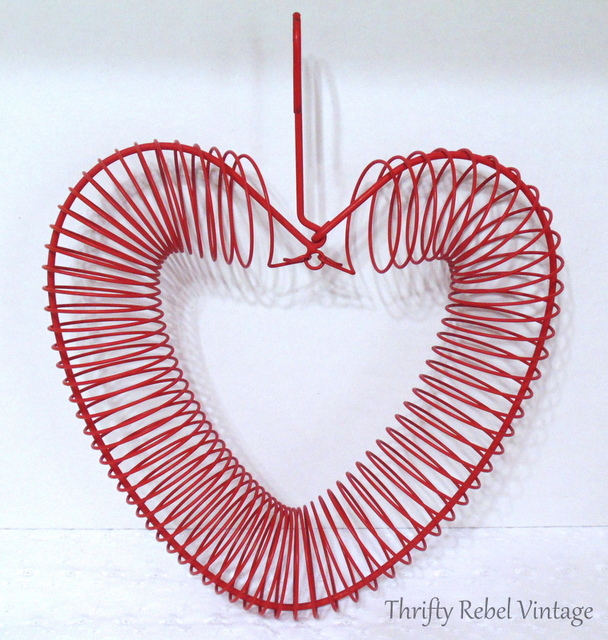 Red Wire Heart