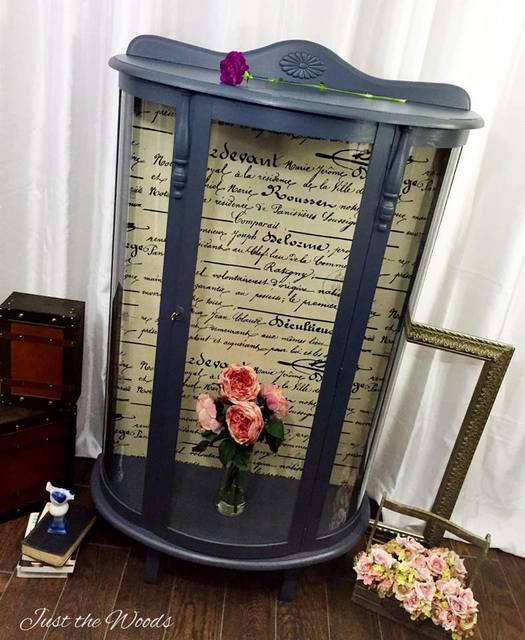 Just the Woods, LLC French Style Curio Cabinet Diana #18