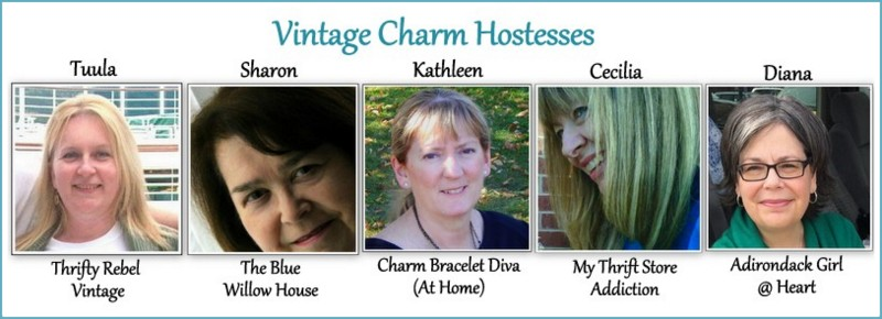 Vintage Charrm Hostess new collage with border