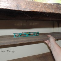 Craft Room Closet Shelves DIY