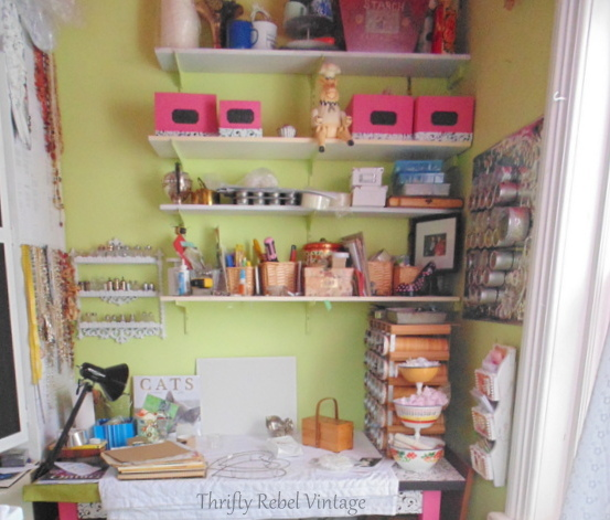 craft desk area 2