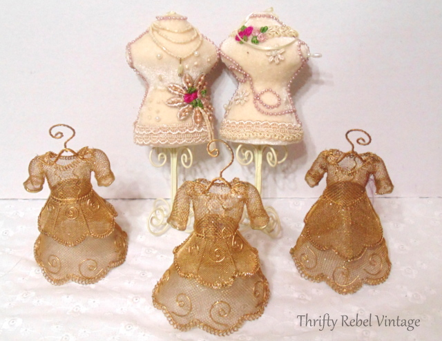 dress form ornaments