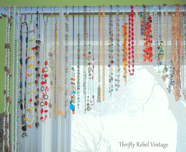 necklace window valance